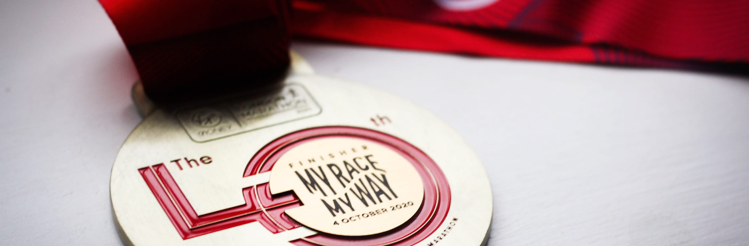 The 40th Race medal