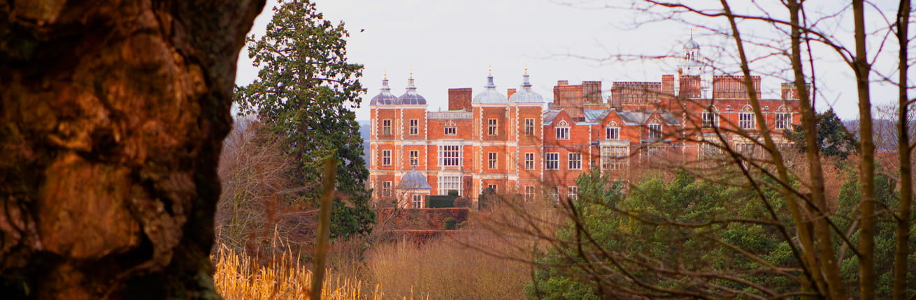 A view of Hatfield House